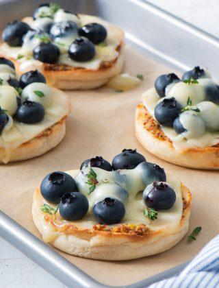 5 Ingredient Blueberry Swiss Cheese Melt