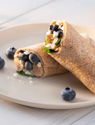 Blueberry Balsamic Chicken Wrap