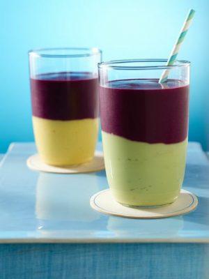 Blueberry Mango Chili Smoothie