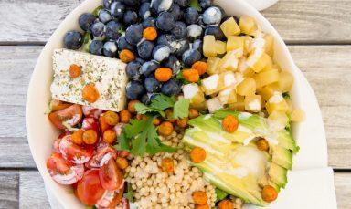 Blueberry Grain Bowl