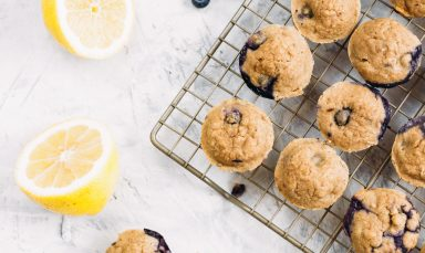 Blueberry Lemon Mini Muffins