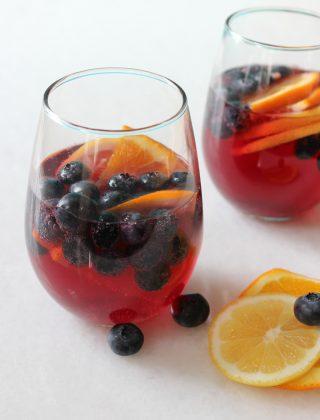 Blueberry-Sangria