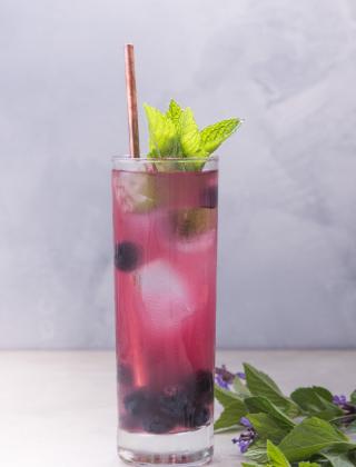Blueberry Soda