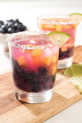 Blueberry Peach Margarita