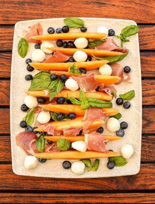 Cantaloupe Blueberry Caprese - FOR WEBSITE