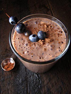 Chocolate-Blueberry-Smoothie