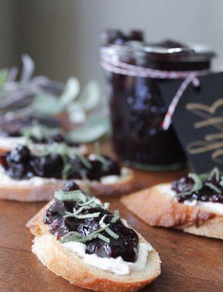 Blueberry Sage Chutney