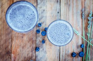 Lavendar-Blueberry-Smoothie