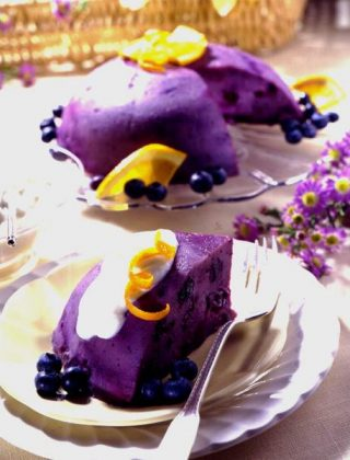 Blueberry Steamed Pudding