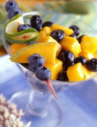 Blueberry-Mango Colada Salad