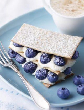Fresh Blueberry Napoleons