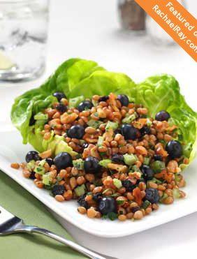 Blueberry Wheat Salad