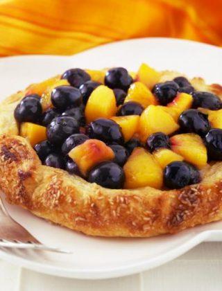 Rustic Blueberry-Nectarine Crostata