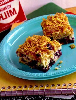 Blueberry Breakfast Bars