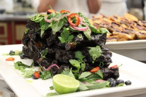 Blueberry 5-Spice Dry-Rubbed Ribs with Carrot, Ginger & Blueberry Hoisin