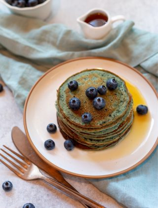 Stackable Blueberry Pancakes